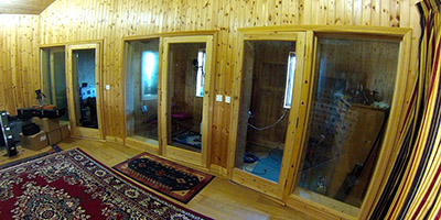 Studio recording Booths